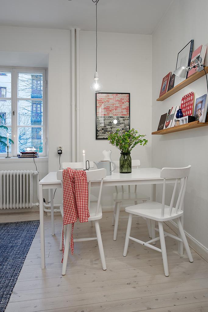 Квартира в Швеции. Кухня