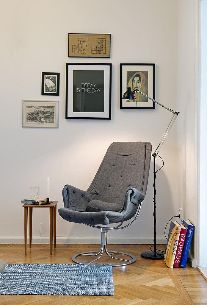 Кресло в интерьере
