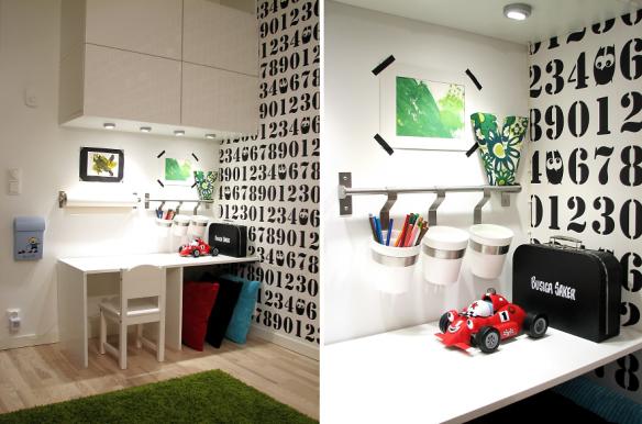 Дом в Швеции. Детская комната