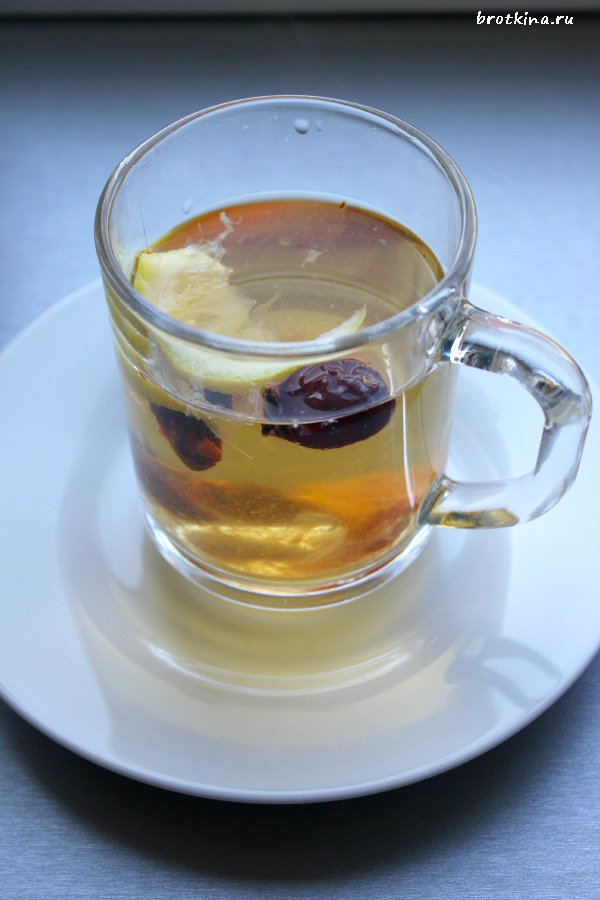 Чай из шиповника. Рецепт