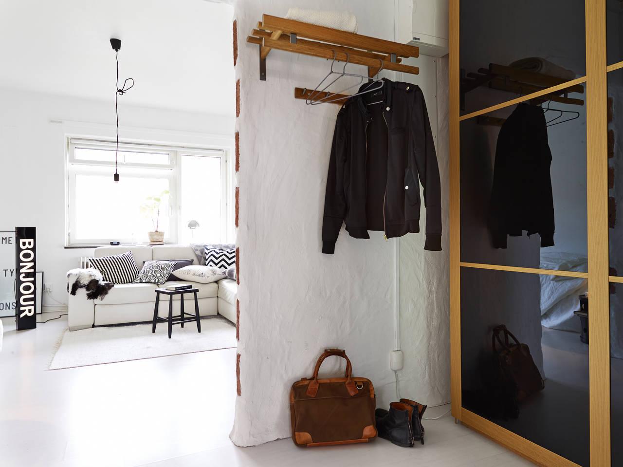 1-комнатная квартира в Швеции