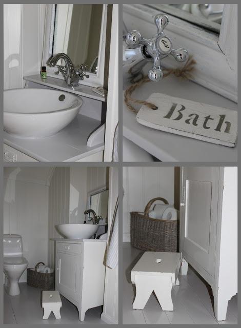 Дом Мии из Норвегии. Ванная комната