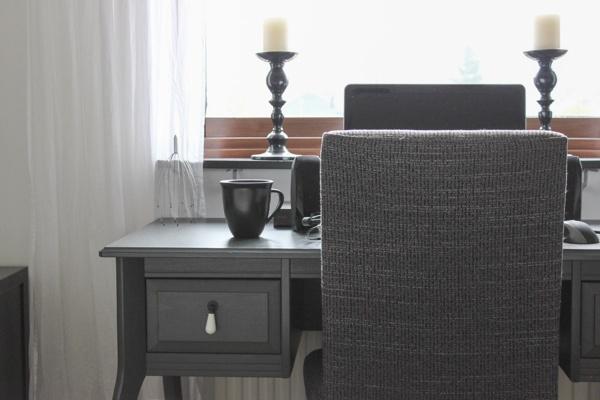Дом в Швеции. Спальня