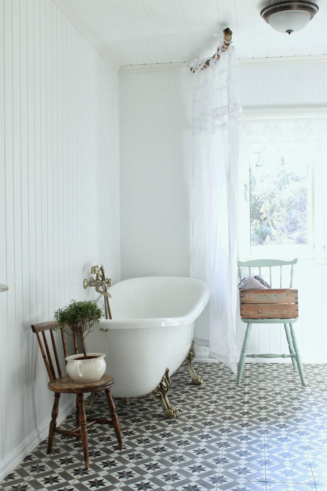 Дом в Норвегии.  Ванная комната