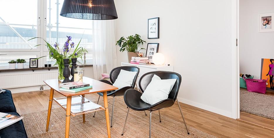 Квартира в Гетеборге. Скандинавский стиль